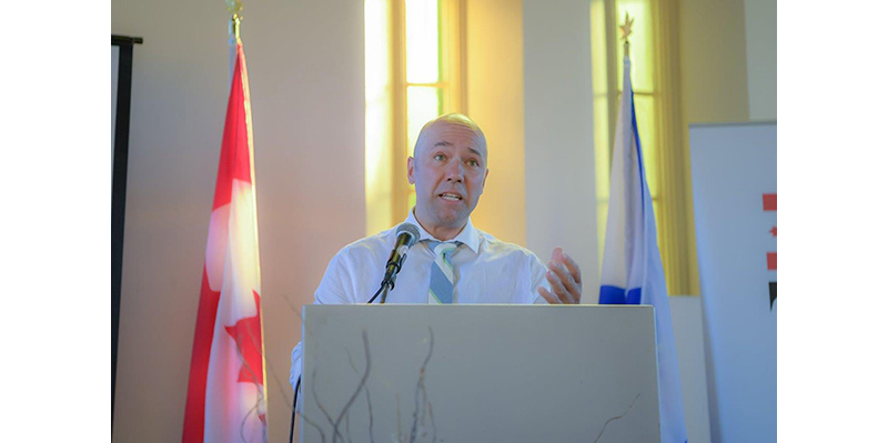 MP Andy Fillmore, Parliamentary Secretary to the Minister of Democratic Institutions and Member of Parliament for Halifax
