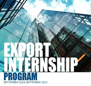 Export Internship Program Poster